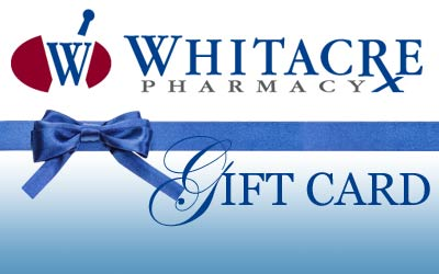 Whitacre Pharmacy Gift Card