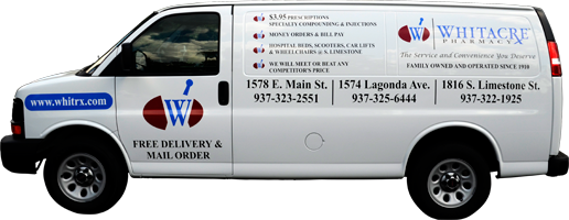 Whitacre Offers Free Delivery